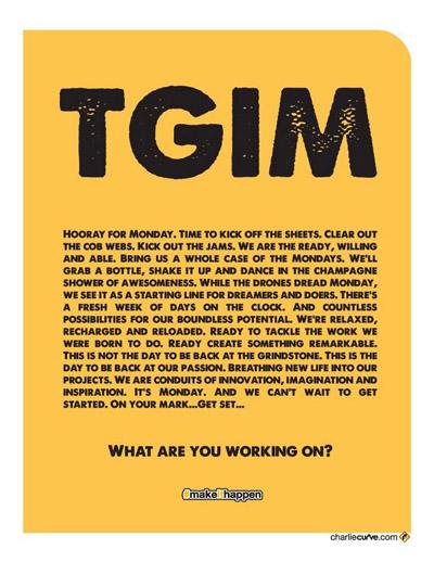 Thank God Its Monday!