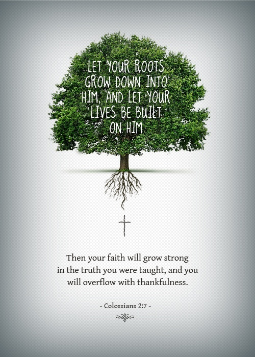 Image result for bible verses on roots