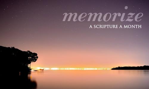 memorize-a-scripture-a-month