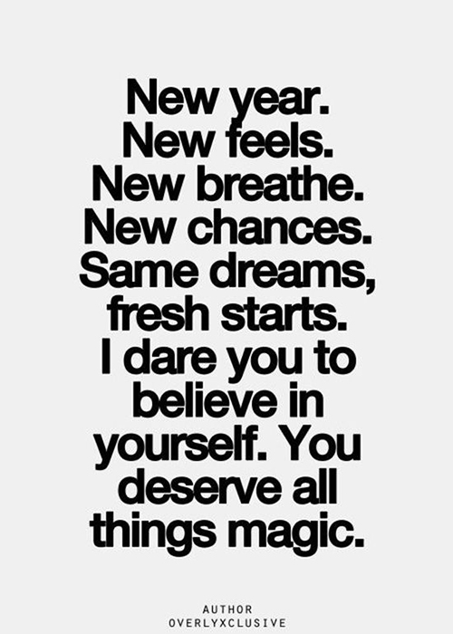 The Magic of New Beginnings: 17 Inspirations for the New Year of ...